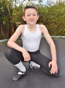 Felix Brook, 10, only start ballet lesson in 2014 (Peterrborough Telegraph) 2016