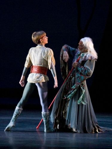 Harrison Ball, 12, in Charleston Ballet Theatre's 2007 World Premiere of Camelot
